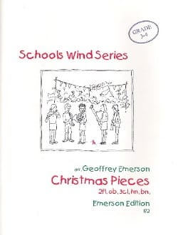 Christmas pieces -Wind octet - Score + parts laflutedepan