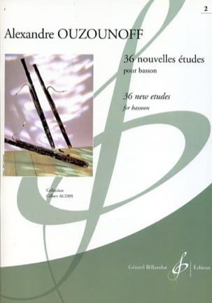 36 Nouvelles Etudes volume 2 Alexandre Ouzounoff laflutedepan