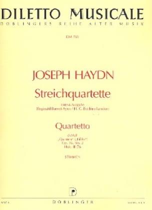 Streichquartett d-moll op. 76 n° 2 -Stimmen - laflutedepan.com
