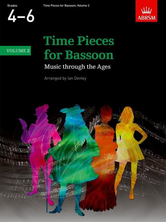 Time pieces for Bassoon - Volume 2 - Partition - laflutedepan.com