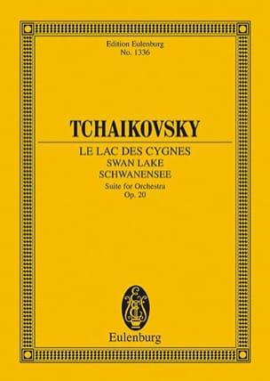 Le Lac des Cygnes TCHAIKOVSKY Partition Petit format - laflutedepan