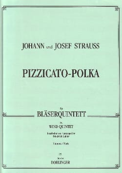 Pizzicato-Polka - Bläserquintett - Stimmen laflutedepan