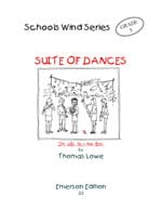 Suite of Dances - Score + parts - Thomas Lowe - laflutedepan.com