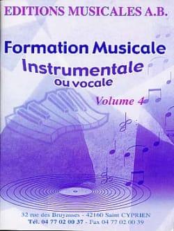 FM instrumentale ou vocale, Volume 4 AB Partition laflutedepan