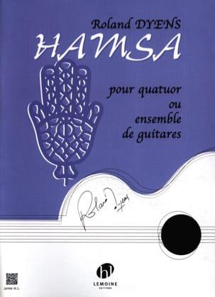 Hamsa Roland Dyens Partition Guitare - laflutedepan
