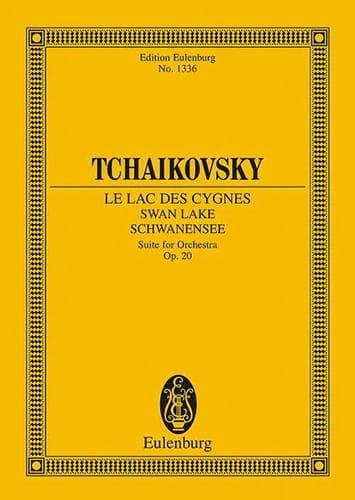 Le Lac des Cygnes - TCHAIKOVSKY - Partition - laflutedepan.com