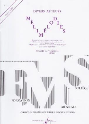 Mélimélodies - Volume 1 - Jean-Clément Jollet - laflutedepan.com