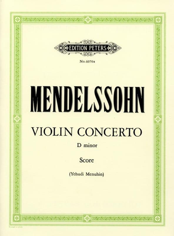 Concerto Violon ré mineur Menuhin -conducteur - laflutedepan.com