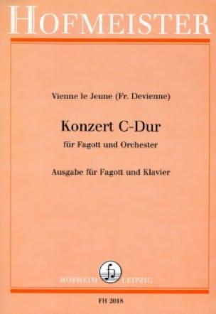 Konzert C-Dur -Fagott Klavier - DEVIENNE - laflutedepan.com