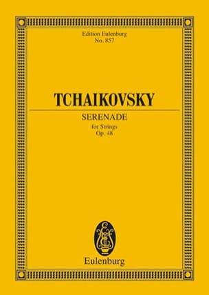 Serenade C-Dur, op. 48 - Partitur TCHAIKOVSKY Partition laflutedepan
