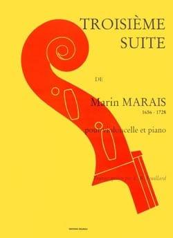 3ème Suite Marin Marais Partition Violoncelle - laflutedepan