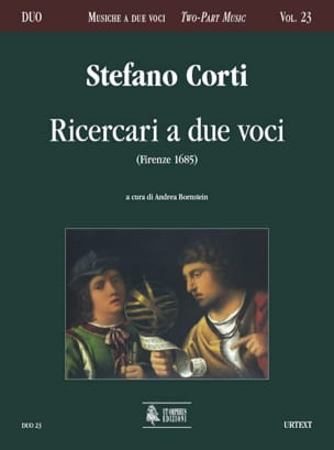 Ricercari a due voci Stefano Corti Partition laflutedepan