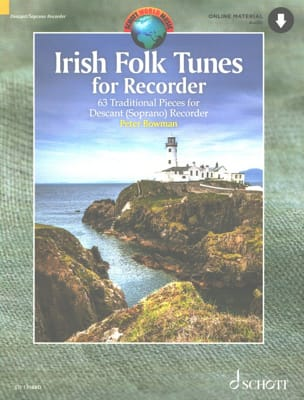 Irish Folk Tunes for Recorder - Traditionnels - laflutedepan.com