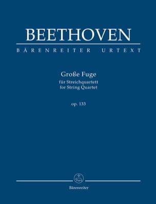 Grande Fugue, op. 133 BEETHOVEN Partition Petit format - laflutedepan