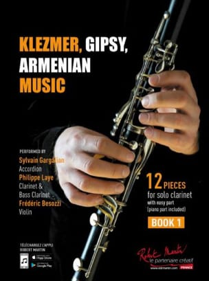 Klezmer, Gipsy, Armenian Music Vol. 1 Traditionnels laflutedepan