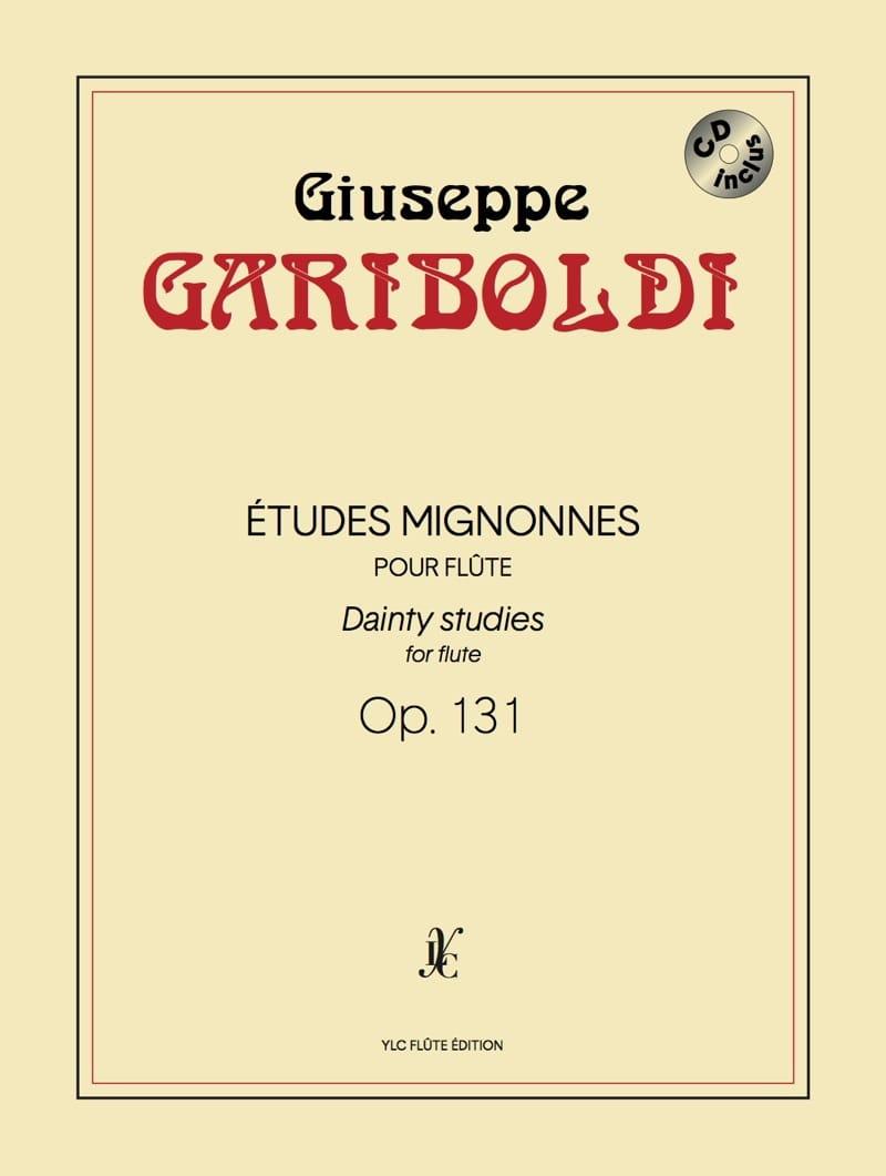 Etudes Mignonnes Op. 131 - GARIBOLDI - Partition - laflutedepan.com