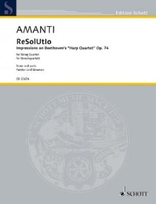 ReSolUtIo - Lucio Franco Amanti - Partition - laflutedepan.com