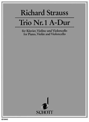 Trio Nr. 1 A-Dur - Klavier Violine Cello - laflutedepan.com