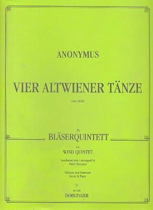 4 Altwiener Tänze - Bläserquintett - Partitur + Stimmen laflutedepan