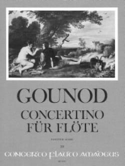 Concertino - Flûte et orchestre GOUNOD Partition laflutedepan