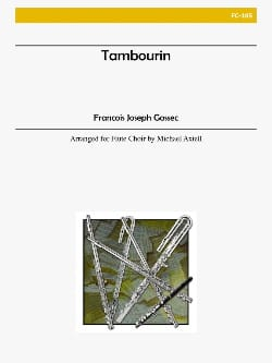 Tambourin, Arrangement - Ensemble de Flûtes laflutedepan