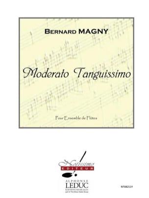 Moderato Tanguissimo - 6 Flûtes Bernard Magny Partition laflutedepan