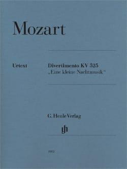 Divertimento Une Petite Musique de nuit K. 525 MOZART laflutedepan