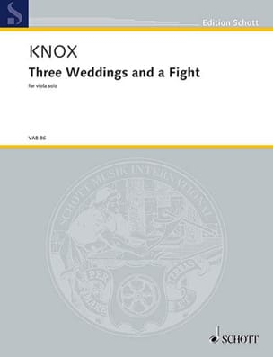 Three Weddings and a Fight Garth Knox Partition Alto - laflutedepan