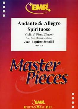 Andante et Allegro Spirituoso Jean-Baptiste Senaillé laflutedepan