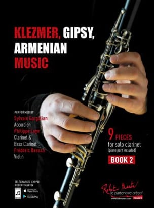 Klezmer, Gipsy, Armenian Music Vol. 2 Traditionnels laflutedepan