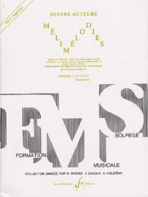 Mélimélodies - Volume 7 - Jean-Clément Jollet - laflutedepan.com