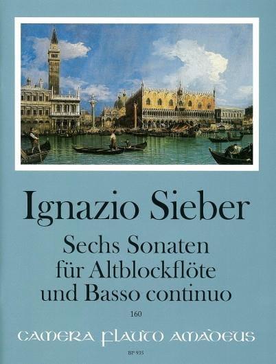 Sechs Sonaten für Altblockflöte und BC - laflutedepan.com