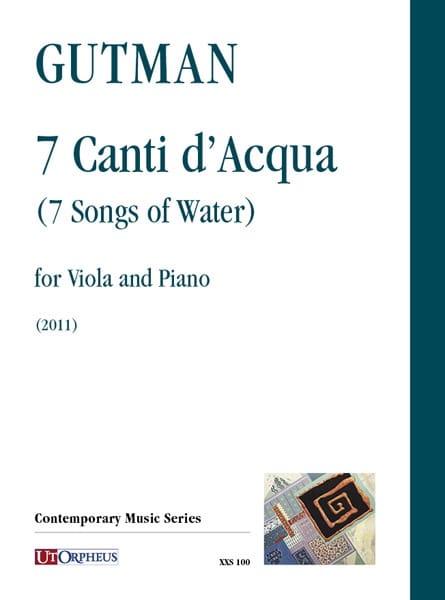 7 Canti d'Acqua - Delilah GUTMAN - Partition - Alto - laflutedepan.com