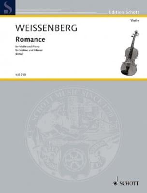 Romance - Alexis Weissenberg - Partition - Violon - laflutedepan.com