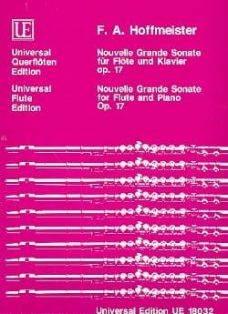 Nouvelle grande sonate op. 17-Flöte Klavier HOFFMEISTER laflutedepan