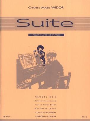 Suite Op. 34 WIDOR Partition Flûte traversière - laflutedepan