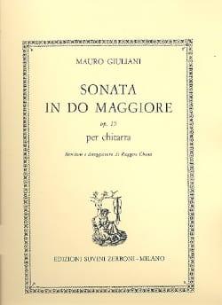 Sonata in do maggiore op. 15 Mauro Giuliani Partition laflutedepan