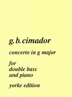 Concerto in G major - Double bass laflutedepan
