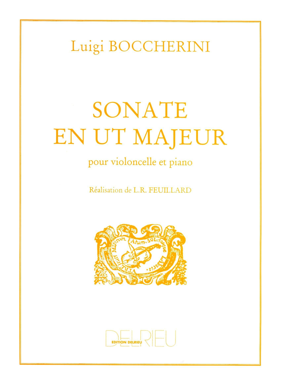 Sonate en Ut Majeur - BOCCHERINI - Partition - laflutedepan.com