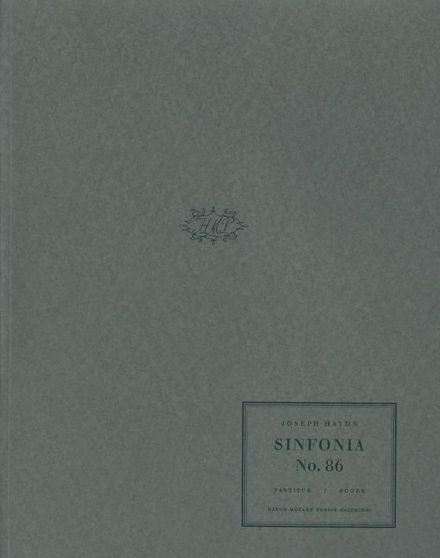 Symphony N°86 - HAYDN - Partition - Grand format - laflutedepan.com