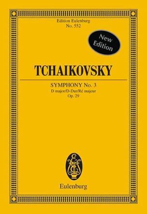 Symphonie Nr. 3 D-Dur - Conducteur TCHAIKOVSKY Partition laflutedepan