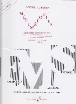 Mélimélodies - Volume 5 Jean-Clément Jollet Partition laflutedepan
