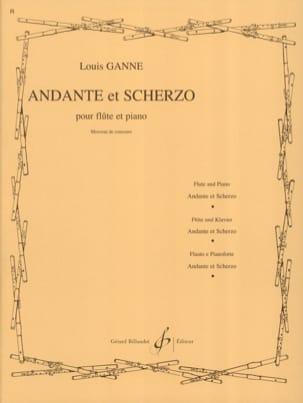 Andante et Scherzo Louis Ganne Partition laflutedepan