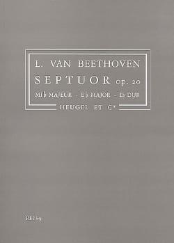 Septuor, Op. 20 Mib Maj. - Conducteur BEETHOVEN Partition laflutedepan