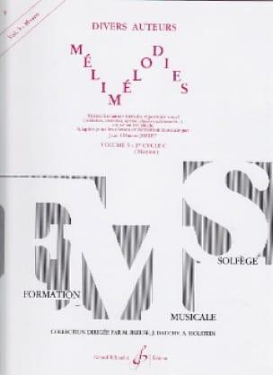 Mélimélodies - Volume 5 - Jean-Clément Jollet - laflutedepan.com
