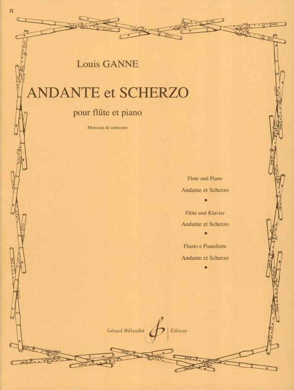 Andante et Scherzo - Louis Ganne - Partition - laflutedepan.com