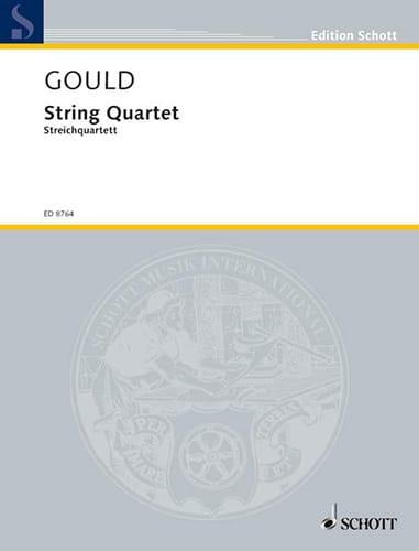 String quartet -Score + Parts - Glenn Gould - laflutedepan.com