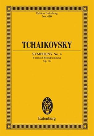 Symphonie Nr. 4 f-moll op. 36 - Partitur TCHAIKOVSKY laflutedepan