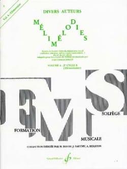 Mélimélodies - Volume 4 Jean-Clément Jollet Partition laflutedepan