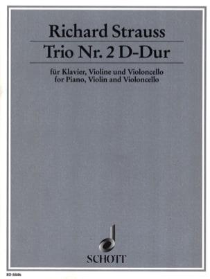 Trio Nr. 2 D-Dur -Klavier Violine Cello Richard Strauss laflutedepan